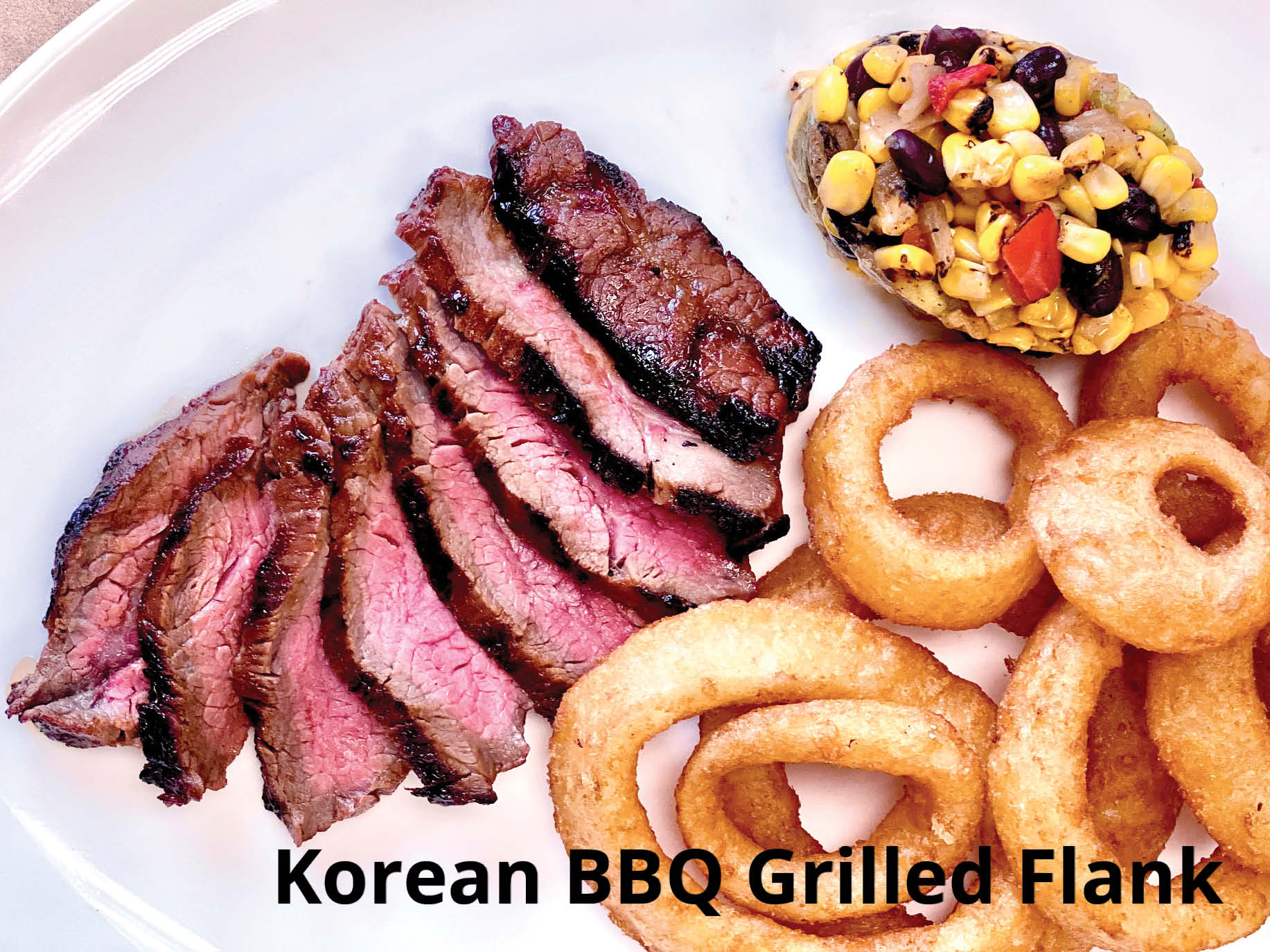 Korean BBQ Grilled Flank